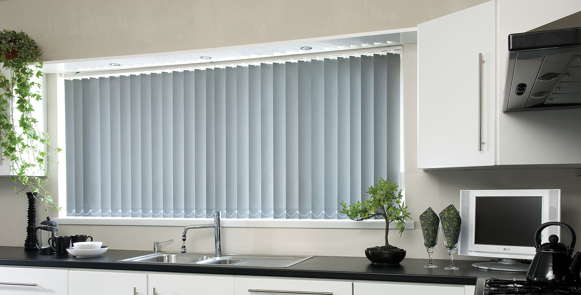 white direct clear blind vertical online blinds product manor